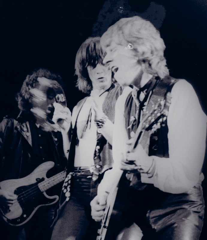 Lightning Raiders (singer Gass Wild and guitarist Johnny Hodge), 1980