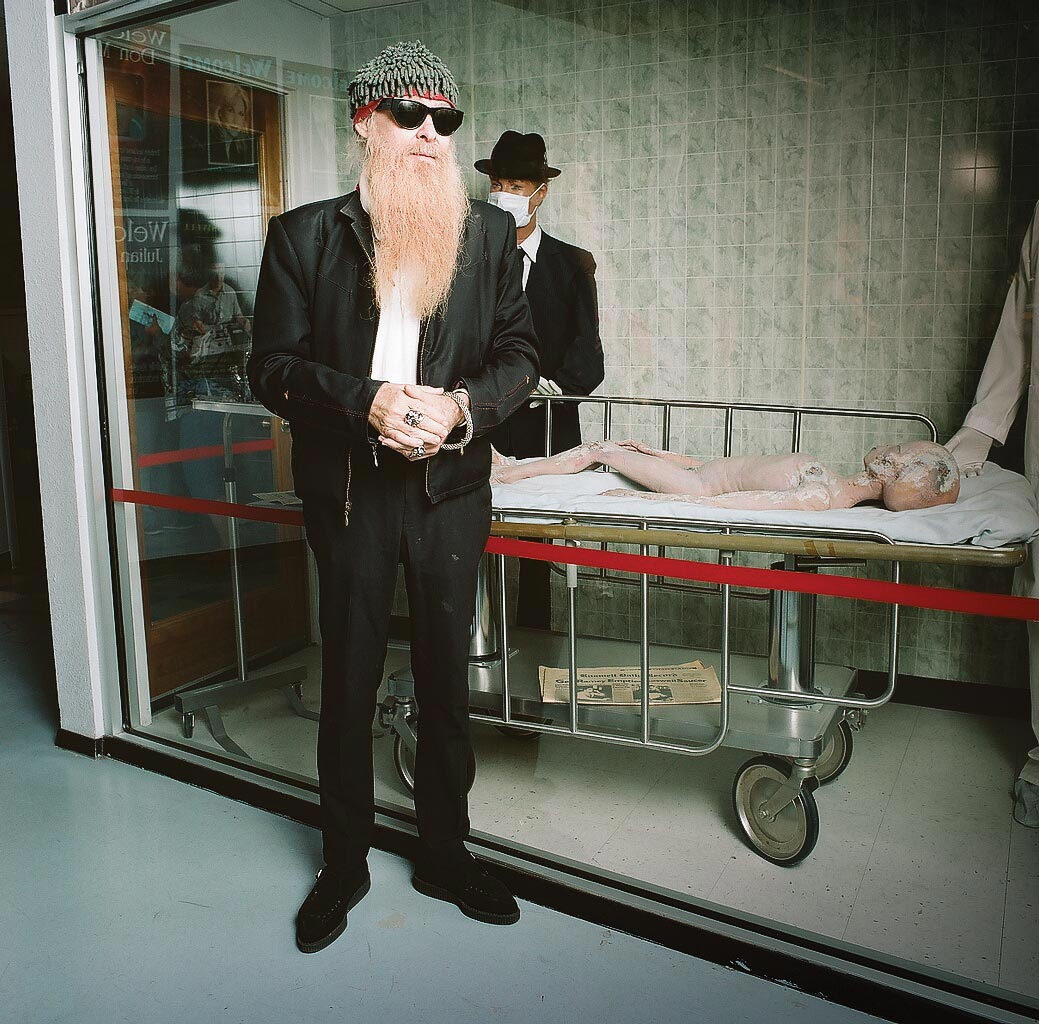 Billy Gibbons degli ZZ Top, Ufo Museum, Riswell, New Mexico