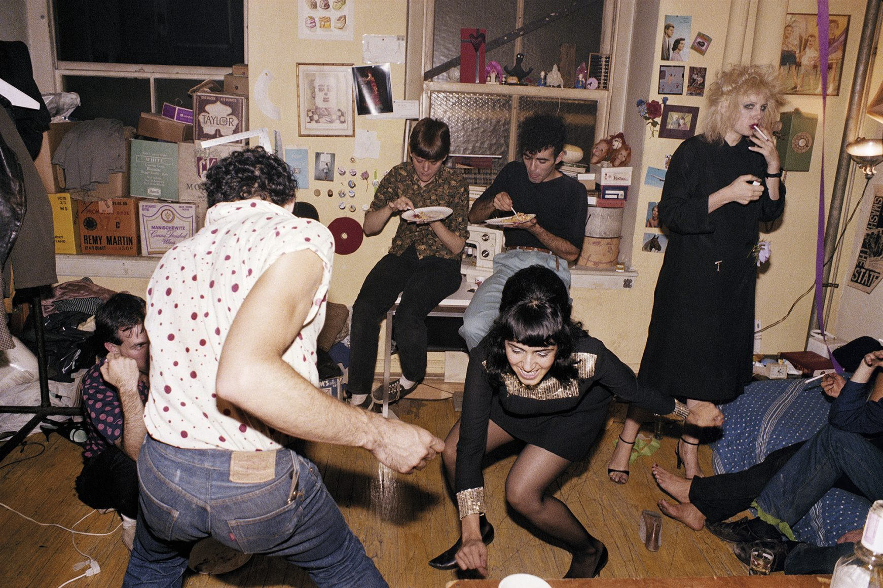 Twisting at my birthday party, NYC, 1980