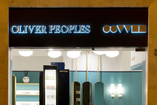 Apre a Roma la prima boutique Oliver Peoples