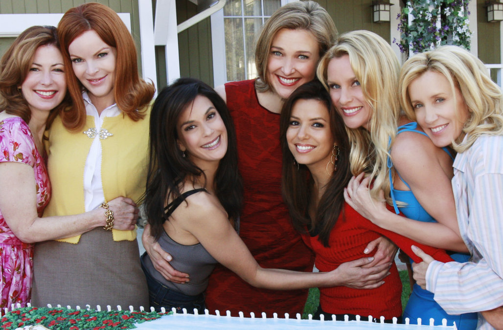</span></figure> Il cast di Desperate Housewives