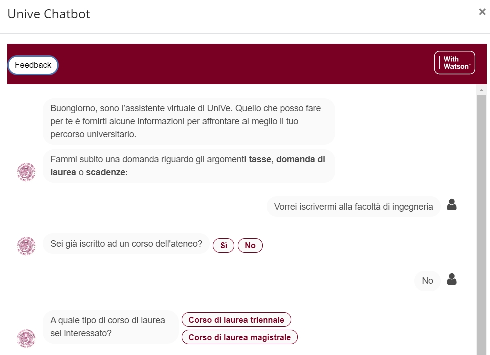 cafoscari-web-site-chatbot-with-watson