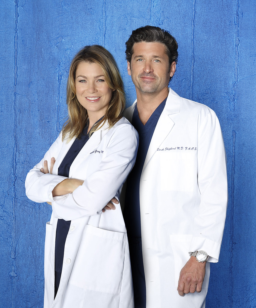 "</span></figure> GREY'S ANATOMY – ABC's ""Grey's Anatomy"" stars Ellen Pompeo as Dr. Meredith Grey and Patrick Dempsey as Dr. Derek Shepherd. (ABC/Bob D'Amico)"