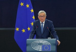 </span></figure></a> European Commission President Jean-Claude Juncker addresses the European Parliament during a debate on The State of the European Union in Strasbourg, France, September 14, 2016. REUTERS/Vincent Kessler