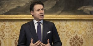 </span></figure></a> <em>MILAN, ITALY &ndash; JANUARY 30: Italian Prime Minister Giuseppe Conte holds a news conference at Palazzo Marino, Milan&rsquo;s City Hall, on January 30, 2019 in Milan, Italy. (Photo by Emanuele Cremaschi/Getty Images)</em>