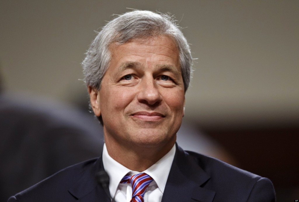 JPMorgan Chase CEO Jamie Dimon, head of the largest bank in the United States, testifies on Capitol Hill in Washington, Wednesday, June 13, 2012, before the Senate Banking Committee about how his company recently lost more than $2 billion on risky trades. (AP Photo/J. Scott Applewhite)