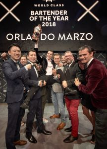 Orlando Marzo has been crowned the World Class Global Bartender of the Year 2018 in the eclectic capital of Berlin. Orlando from Melbourne, Australia held his nerve to emerge victorious after a nail-biting 'Cocktail Clash' Grand Finale in Berlin's iconic eWerk building. He will now travel the world as a Diageo representative and join a roll call of the industry's finest, becoming the 10th member of the WORLD CLASS Hall of Fame.Orlando Marzo has been crowned the World Class Global Bartender of the Year 2018 in the eclectic capital of Berlin. Orlando from Melbourne, Australia held his nerve to emerge victorious after a nail-biting 'Cocktail Clash' Grand Finale in Berlin's iconic eWerk building. He will now travel the world as a Diageo representative and join a roll call of the industry's finest, becoming the 10th member of the WORLD CLASS Hall of Fame. Press release and media available to download at: https://worldclass.box.com/s/iwxivv5v0p2xb8m8tsus2gr96v2spq4d.