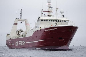 Trawler Norma Mary in the Barents Sea