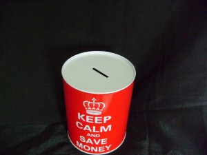 risparmio keep calm and save money