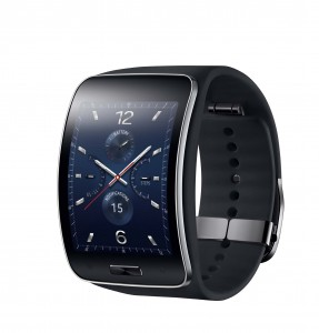 Samsung Gear S_Blue Black_leteral